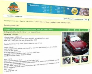 Car for sale on Gumtree Cape Town